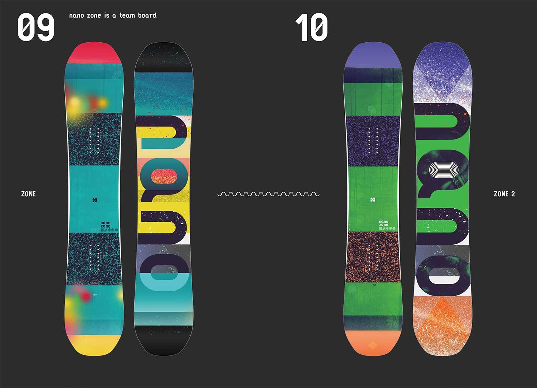 NANO snowboards design